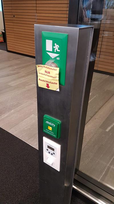 Notfallknopf oder Türöffner